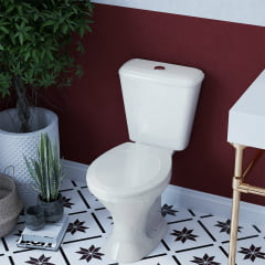 Assento sanitário Universal Oval Premium convencional polipropileno
