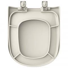 Assento sanitário VoguePlus Life Flox Square LorenLuna LorenClass convencional polipropileno