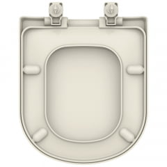 Assento sanitário VoguePlus Life Flox Square LorenLuna LorenClass pergamon convencional resina termofixo