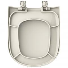 Assento sanitário VoguePlus Life Flox Square LorenLuna LorenClass pergamon soft close polipropileno