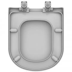 Assento sanitário Vogue Plus Life Flox Square LorenLuna LorenClass soft close resina termofixo