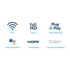 Chromecast Receptor de Tv Elsys Smarty Etri01 Full Hd Wifi