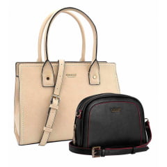 Kit Bolsa Feminina Vogue