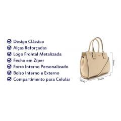 Kit Bolsa Feminina Vogue