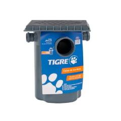 Caixa de gordura coletora pvc 18L tampa DN 100 e cesto Tigre