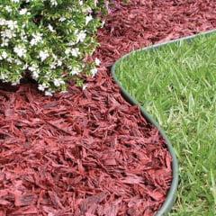 Limitador grama separador jardim 25 metros com borda vazada