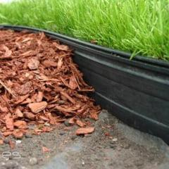 Limitador grama separador jardim 25 metros meia borda
